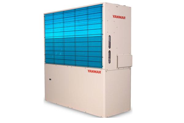 Pompa di calore idronica con motore endotermico
